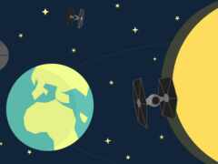 star, galaxy, луна