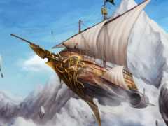 корабль, человек