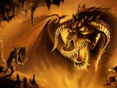 дракон, воин, другие