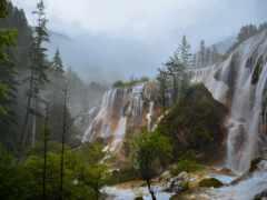водопад, ala, природа