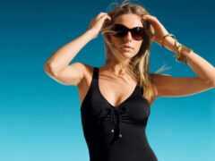 женщина, backless, sunglasses