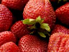 фрукты, красивые, клубника