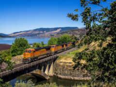 landscape, поезд, vehicle