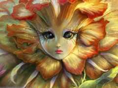 cvety, рисунки, fantasy