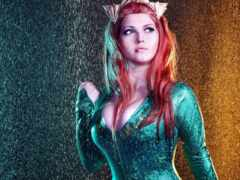 mera, cosplay, aquaman
