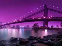 мост, anime, york