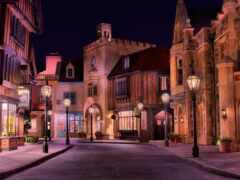 улица, город, ночь
