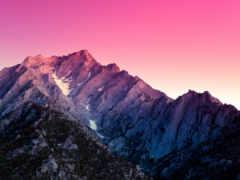 горы, пейзажи -, небо