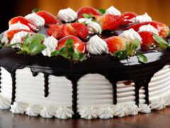 birth, день, торт