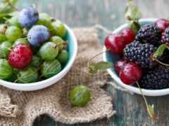 еда, фрукты, cherry