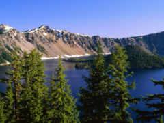 crater, озеро, самые