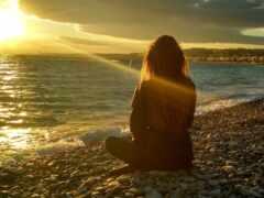 девушка, моря, море
