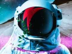 космонавт, астронавт, скафандр