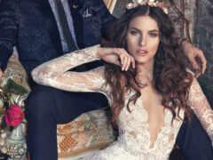 платье, свадебный, вино