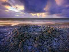 горизонт, oir, море