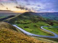 великобритания, district, landscape