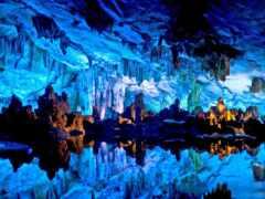 пещера, флейта, камыш