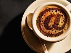 cup, coffee, марина