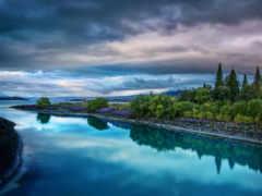красивые, самые, река