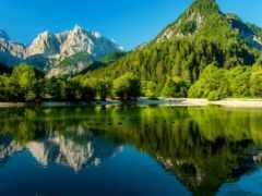 summer, летом, озеро