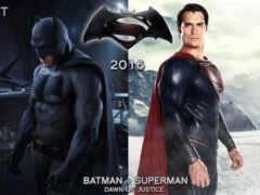 batman, superman, art