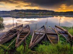 landscape, озеро, natural