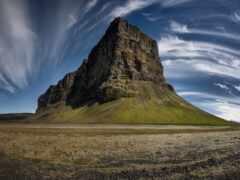 landscape, hill, гора