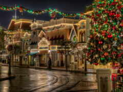 christmas, ночь