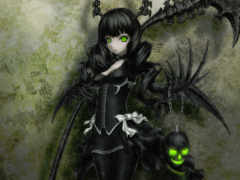 black, rock, shooter