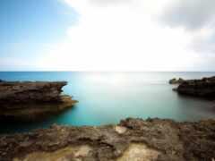спокойствие, landscape, море