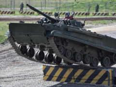 БМП-3, машина