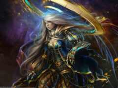 fantasy, art, god