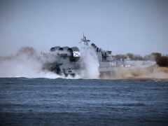 корабль, air, amphibious