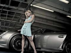 девушка, крутой, car