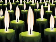 свеча, verde, burn