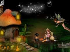 mushroom, фея, house