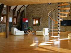 design, dome, гостиной