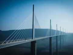 виадук, мийо, мост