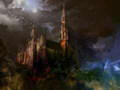 fantasy, картинка, castle