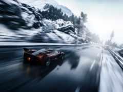 car, driveclub, снег