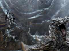 дракон, skyrim, скайрим