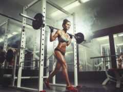 тренировки, спортзале, зале