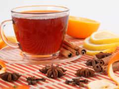 чая, оранжевый