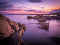камень, rock, море