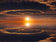 миро, отражение, портал