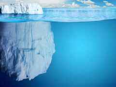 ocean, iceberg, интересно