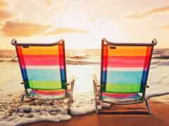 море, пляж, vacation