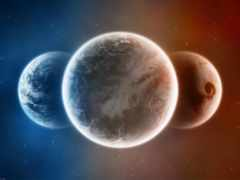 cosmos, планеты, трио