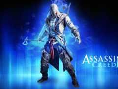 creed, assassin, коннор