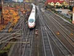 iron, поезд, лед